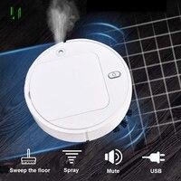 Robot inteligente multifuncional 3 en 1, limpiador de suelos, friega y Barre, friega, Barre y limpia suelos, succión potente, para el hogar