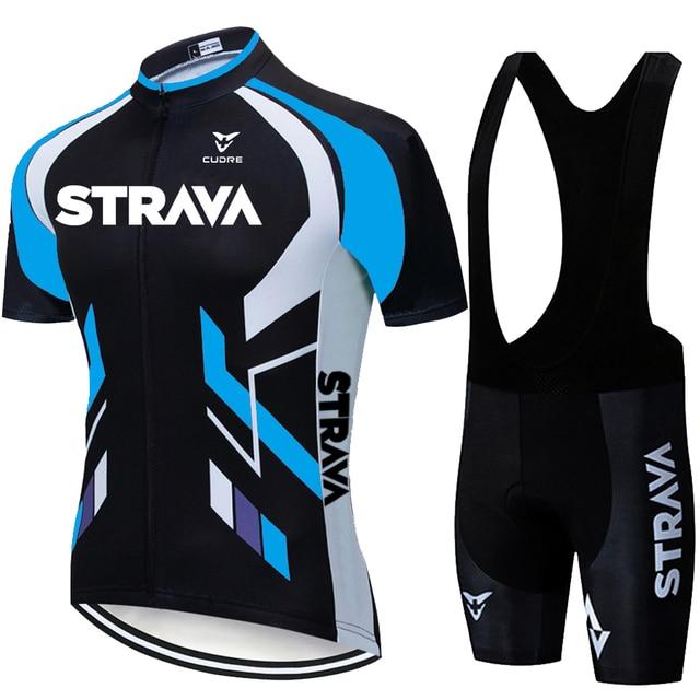2020 equipe strava ciclismo jerseys bicicleta wear roupas bib gel define roupas ropa ciclismo uniformas maillot esporte wear 5