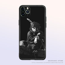 Owari nenhum seraph yuichiro hyakuya silicone macio tpu caso do telefone capa escudo para o iphone se 6s 7 8 plus x xr xs 11 12 mini pro max