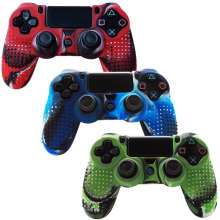 Камуфляж PS4 чехол противоскользящий для Playstation 4 PS4/PS4 Slim/PS4 Pro игровой контроллер Мягкий силиконовый чехол защитный чехол