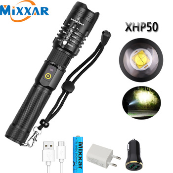 powerful l2 led flashlight lanterna flash lamp long range super bright torch zoomable focus for outdoor fishing hunting camping Dropshipping LED XHP50.2 Flashlight USB Rechargeable Zoomable 30000LM super bright lantern torch Camping powerful light lamp