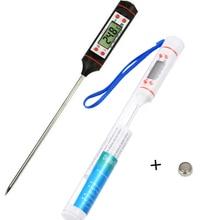 Термометр для барбекю, электронный цифровой кухонный прибор для приготовления пищи, зонд для мяса, воды, молока, мяса, термометр, беспроводные кухонные инструменты