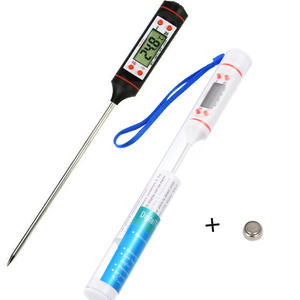 BBQ Thermometer Instrument Electronic Digital Kitchen Cooking Food Probe Meat Water Milk Meat Thermometer Wireless Kitchen Tools