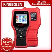 LAUNCH CR3008 Automotive Scanner Battery OBD Car Diagnostic Tool Code Reader OBD2 Scanner OBDII OBD Engine kw850 Creader 3008