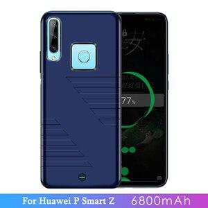 6800 мАч Внешний аккумулятор, зарядное устройство, чехол для huawei P Smart Z, внешний резервный зарядный чехол для huawei P Smart Z, чехол для аккумулятора