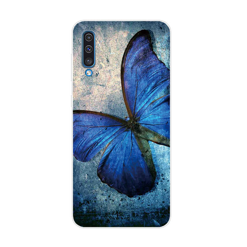Yumuşak Silikon TPU samsung kılıfı Galaxy A50 Kılıfları 6.4 ''2019 Moda Geri samsung kılıfı A50 A 50 A505 A505F Telefon Kapak