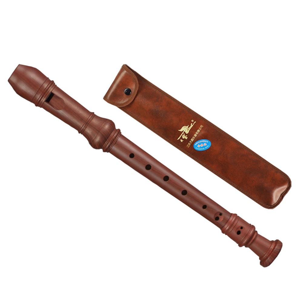 Лебедь канавка немецкого типа 8 отверстий сопрано записывающее устройство для студентов начинающих деревообрабатывающий инструмент