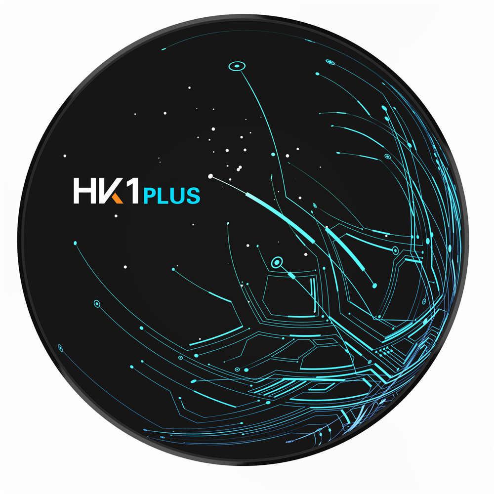 HK1 más Control de voz Android 8,1 TV Box 2GB 16GB S905X2 Quad Core 2,4 GHz WiFi Set Top Box BT4.0 4K UHD 3D USB Media Player