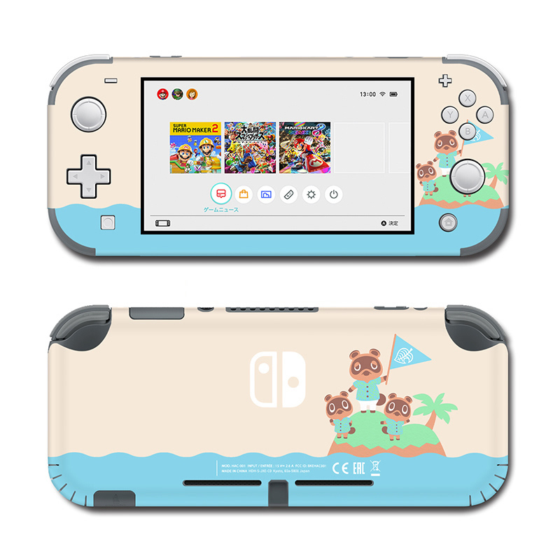 For Animal Crossing Switch Lite Skin Decals Skin Cover Sticker