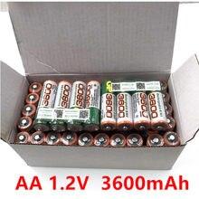 AA 1.2V 3600Mah şarj edilebilir lityum iyon batarya için uygun LED el feneri uzaktan kumanda çalar saat