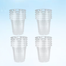 Disposable Cups Drinking-Cup Party-Supplies Transparent Plastic for Cafe-Bar Restaurant