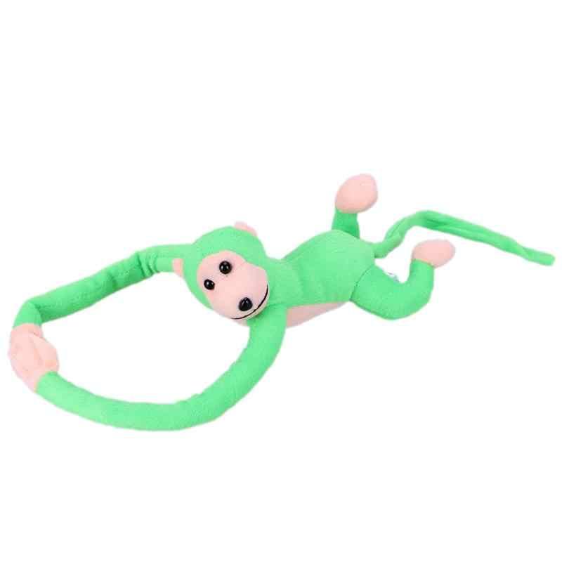 60cm długie ramię ogon zabawkowa małpka miękki pluszowy zabawka wózek dziecięcy pościel śpiąca Appease zabawki Home Decoration zasłony wiszące lalki