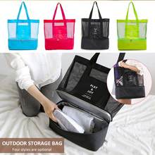 Insulated Picnic Bag Cooler Picnic Bag Carry Tote Drink Waterproof Bento Box Travel Handheld Lunch Bag Refrigeration Outdoors(China)