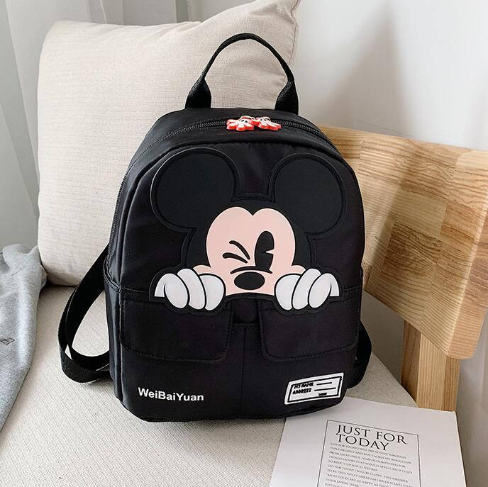 Hot Cartoon Mickey Children Backpacks Kids Kindergarten School Bags Backpacks Baby Boys Girls Toddler Cute Rucksack