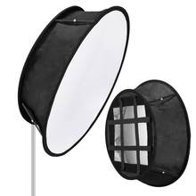 Neewer Collapsible Trapezoid LED Light Softbox: 11.5x11.5inches Opening, Foldable Portable Light Diffuser with Carrying Bag(China)