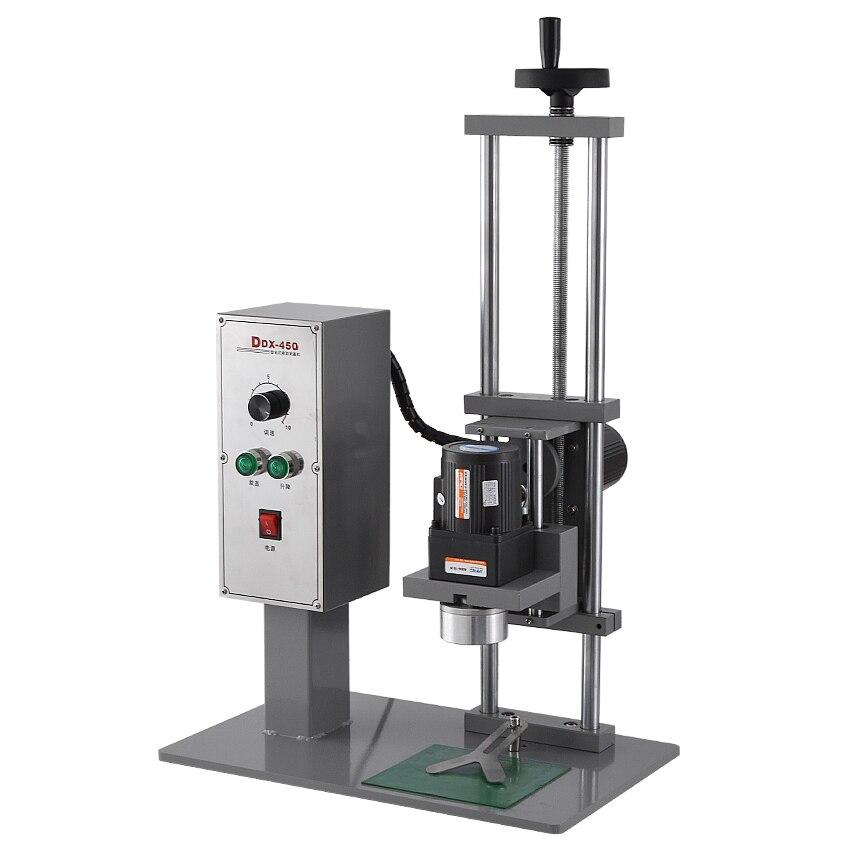 Máquina tampando automática 110 v/220 v 70kw 10 50mm da garrafa do desktop de alta qualidade da máquina ddx450 do parafuso da multi função - 3