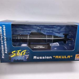 1/700 Russian AKULA Submarine Platinum Collectible Assembled Model Finished Model Easymodel Toy