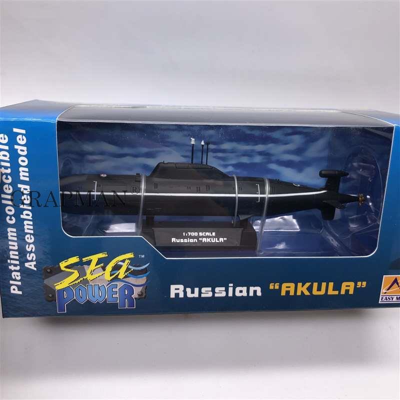 1/700 الروسية أكولا الغواصة البلاتين تحصيل نموذج تجميعها الانتهاء نموذج لعبة Easymodel