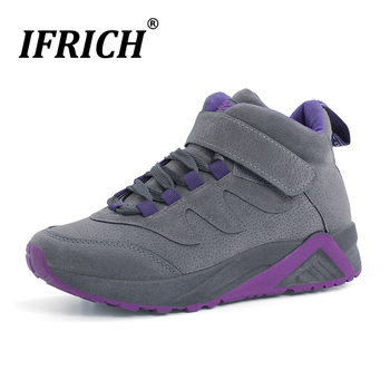 Best Selling Womens Running Shoes Thick Soled Womens Sneakers Comfortable Womens Walking Shoes Warm Fur Jogging Shoes for Ladies фото