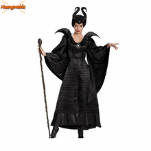 Terror Witch Dresses Demon Scary Costumes Women Horror Maleficent Costume Halloween For