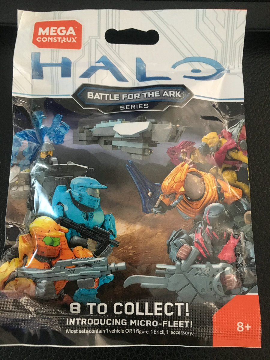 Halo Micro Action Figures Battle For The Ark Series Blind Bag