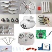 SYMA-Dron X8PRO X8 PRO GPS RC, piezas de repuesto de cuadricóptero cuchillas del Motor, caja de aterrizaje de viento, etc.