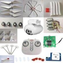 Syma x8pro x8 pro gps rc zangão quadcopter peças de reposição lâminas do motor caixa engrenagem de pouso vento etc