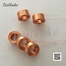 Içi boş kendinden yapışkanlı bobin Test CoilElectric oyuncak Solenoid valf bobini elektromanyetik indüksiyon bobini çapı 12mm