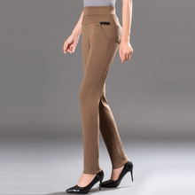 MISSMEOW casual pants women elastic force big size summer womens high waist  trousers push 5xl