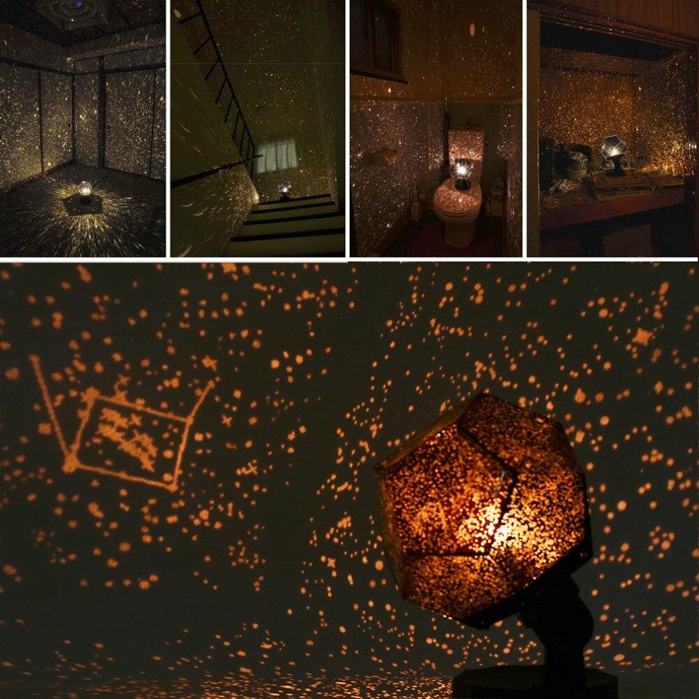 Celestial Star Astro Sky Projection Cosmos Lights Projector Night Lamp Starry Romantic Decoration Lighting Gadget