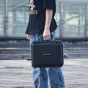 Image 2 - Waterproof Drone Box For DJI Mavic Mini Drone Heavy Duty Storage Bag Carrying Case Travel Portable Hardshell Handbox Protector