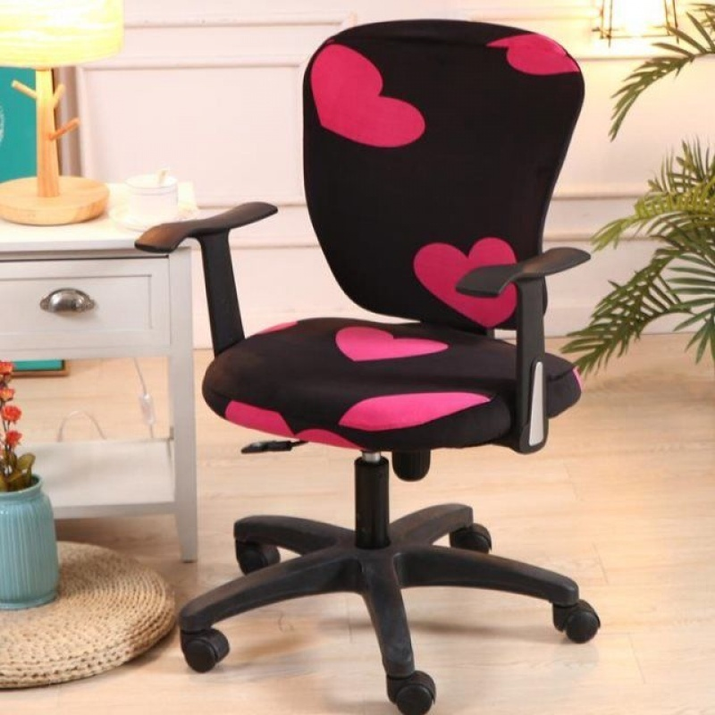 Home Internet Cafe Computer Lift Chair Cover Back Cover Universal Elastic Electronic Chair Cloth Cover Chair Cover  LB828152