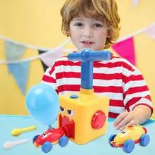 Lanceur de voiture à inertie, jouet Montessori, Puzzle amusant, ballon à Air, expérience scientifique, cadeau de noël pour enfants