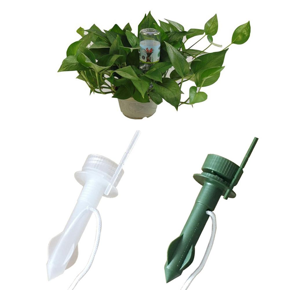 4Pcs Plant Watering Stakes Automatic Plant Waterers Watering Devices Automatic Slow Release Vacation Plant Watering Probes Slow Release for Plants and Flowers