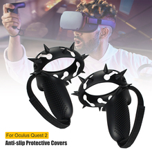 New Protection Cover For Oculus Quest 2 VR Touch Controller Handle Grip Case Silicone Full Protective Sleeve For Oculus Quest2