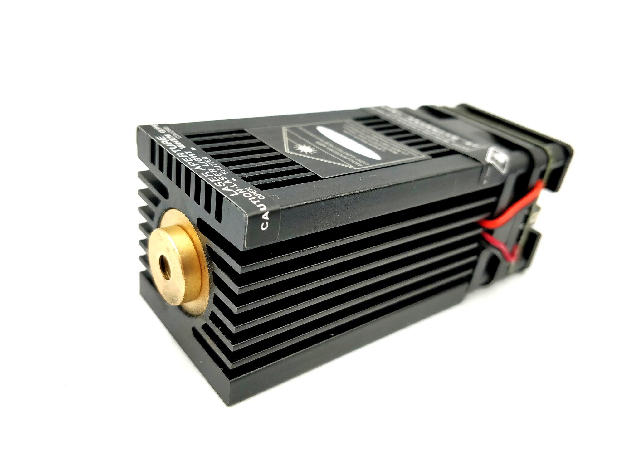 SAM laser gratuit haute puissance vrai 15W 15000mW 445nm 450nm Module de blueLaser focalisable Laser graveur partie bricolage tête Laser avec pwm/TTL