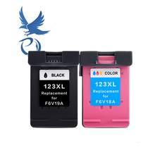 PY 2PK 123 para HP123 123XL Cartucho de Tinta para Impressora HP Deskjet 1110 1111 1112 2130 2132 2134 Officejet 3830 3831 3832 3834