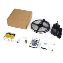 5m 150LEDs Strip Lights Kit 12V RGB 5050SMD Waterproof IP65 with IR Remote & Alexa Voice Control & Wifi Controlled Strip Light