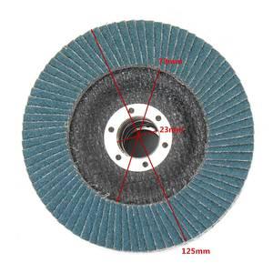 Image 4 - 10Pcs Grinding Wheels Flap Discs Sanding Discs 125mm 5 Inch 40/60/80/120 Grit Angle Grinder Abrasive Tool Wood Tools