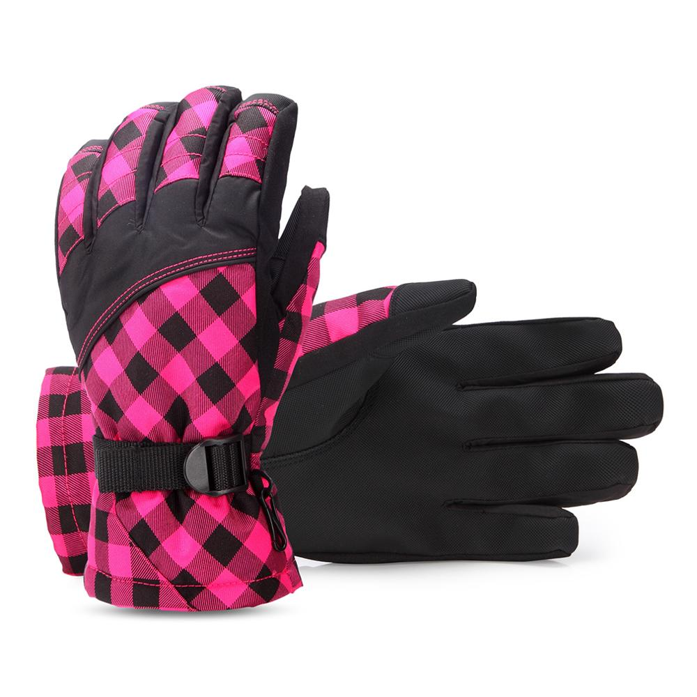Winter Outdoor Sports Snowboard Gloves Snowmobile Motorcycle Riding Winter Gloves Windproof Waterproof Unisex Snow Gloves