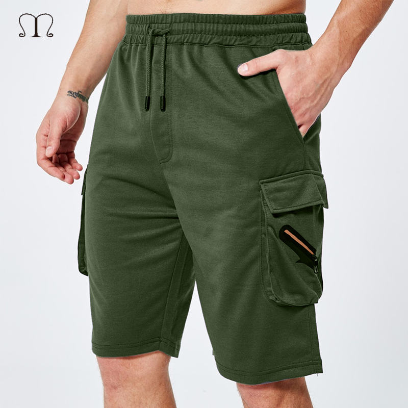 Multi Pocket Cargo Shorts Men Brand Work Breathable Army Men Shorts Casual Summer Loose Military Tactical Sweatpant Male Joggers