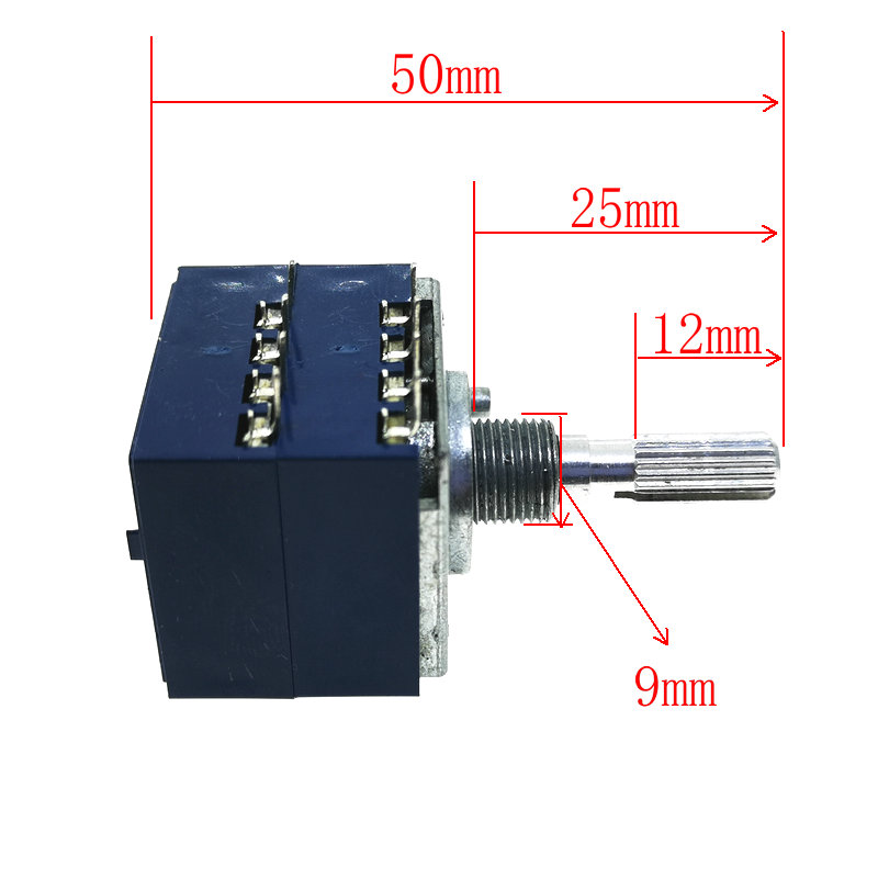Image 4 - 1PCS RH2702 Dual unit Rotary Potentiometer  50K 100K 250K DIP8 ALPS-in Potentiometers from Electronic Components & Supplies
