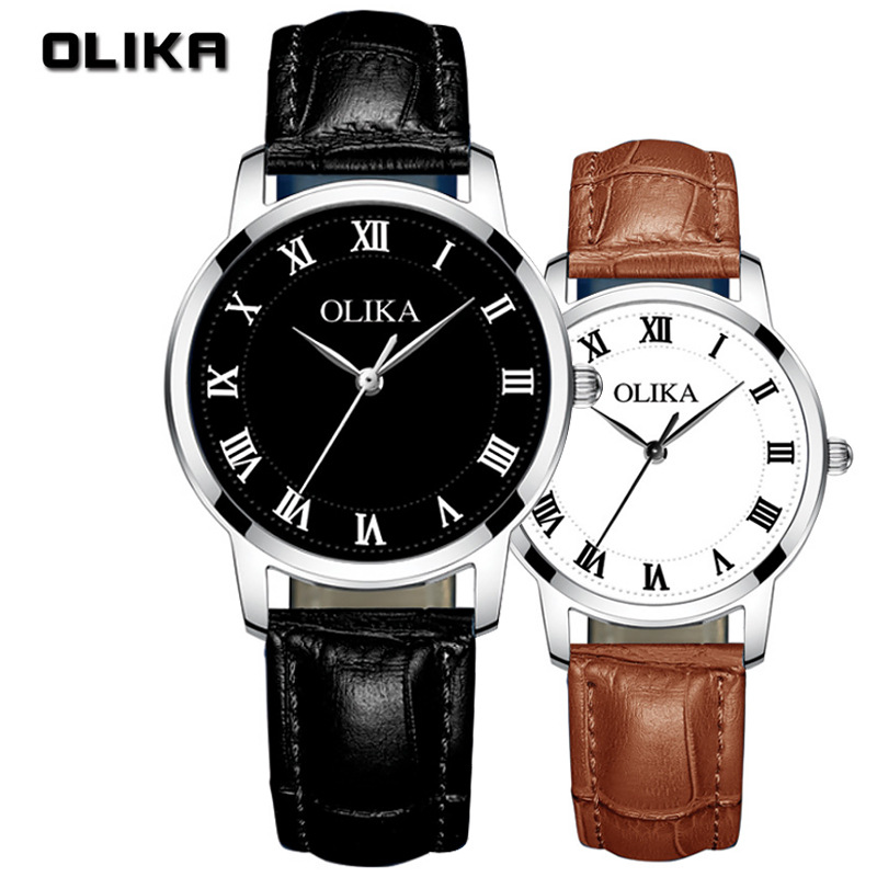 Fashion Brand Couple Watch OLEVS Luxury Quartz Watch Chronograph Waterproof Wristwatch Multifunction Clock Relojes Para Hombre