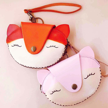 2020 Women New Fashion Designer Hand Stitched Super Cute Retro Real Leather Phone Bag Coin Purse Handbag for girls Party Daily image