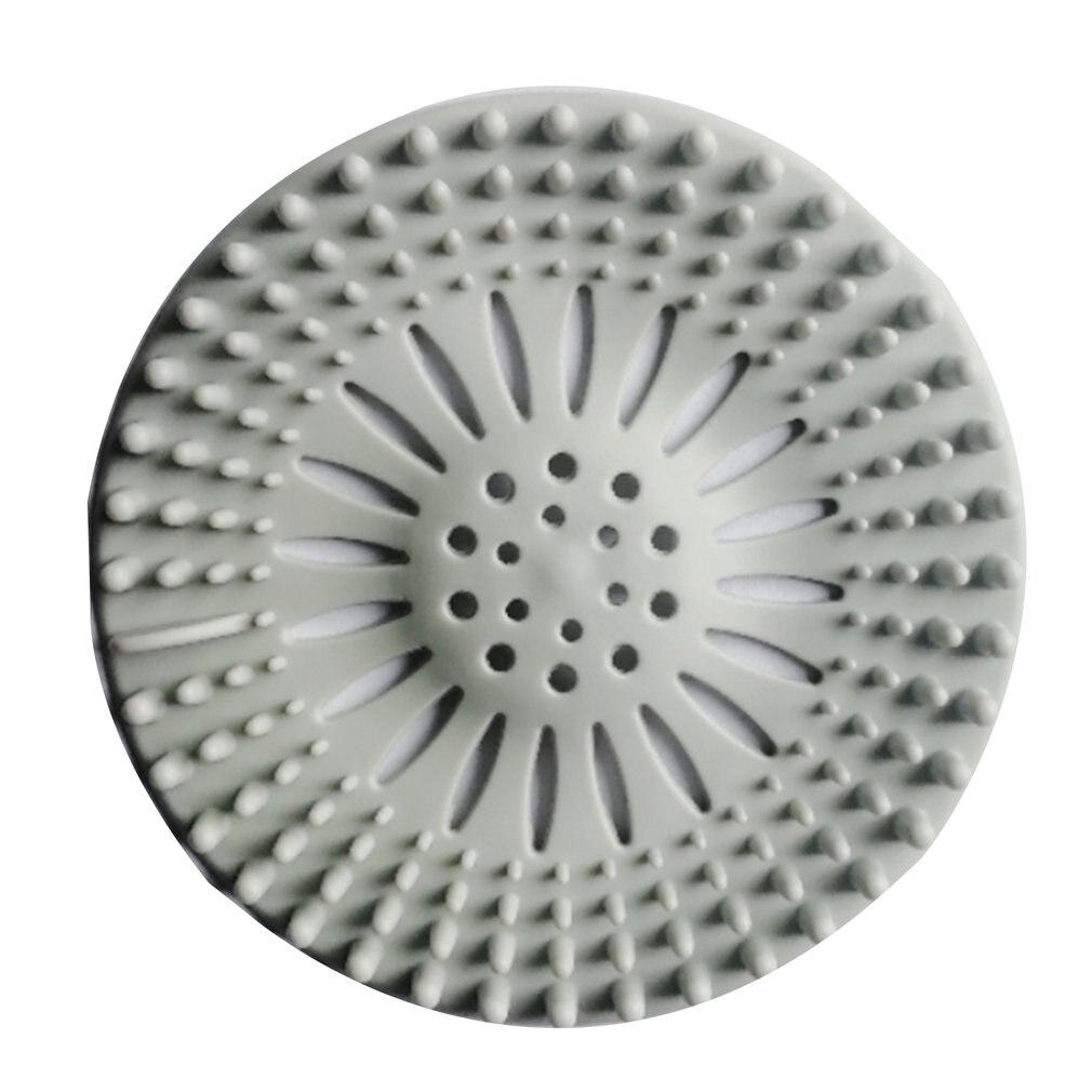 Runde Boden Ablauf Matte Abdeckung Stecker Wasser Filter Dusche Ablauf Abdeckungen Waschbecken Sieb Filter Haar Stopper Für Bad Küche
