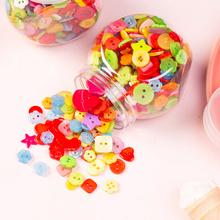 Mixed Resin Painting Various Shape Buttons Of DIY Scrapbooking Patchwork Sewing/Decorative Crafts&Home Decoration,Button Flowers