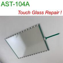 AST-104A 10.4 polegada DMC Vidro Da Tela De Toque para o Painel HMI reparação ~ faça você mesmo, Temos em estoque