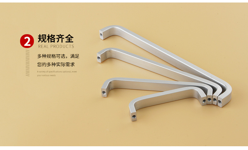 H5b8bcdc0d2c94df0bc54210cddf038d74 - 4/6/8/10/12 inches Space Aluminum Handles Kitchen Door Cabinet Straight Handle Pull Knobs Furniture Hardware