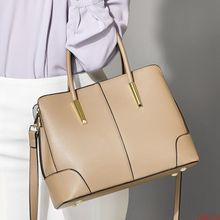 цены Bag women 2020 European and American Style Leather Shoulder Bag Fashion Napa pattern hand-held messenger bag cowhide bag