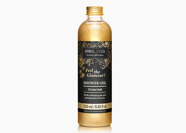 Golden Shower Gel, Pomegranate Extract, Compact Anti Aging